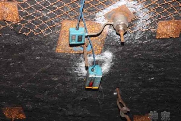 煤矿顶板动态监测分析系统使用情况