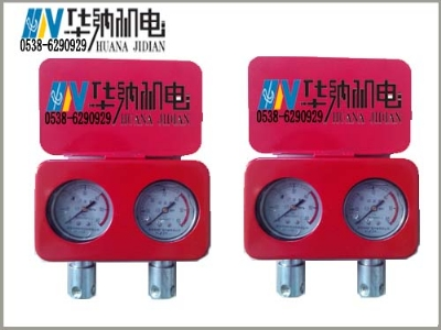 耐震式综采支架测压双表